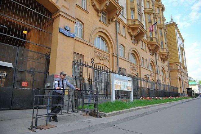 Посольства Америки в Москве