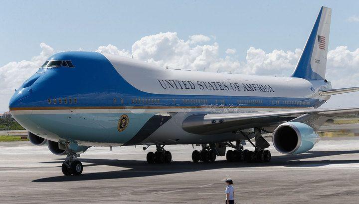 Самолет в США из Украины